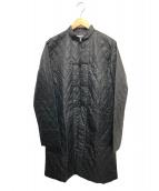 CDG(コム・デ・ギャルソン)の古着「キルティングチャイナコート」 ブラック