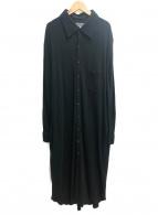 YohjiYamamoto pour homme(ヨウジヤマモトプールオム)の古着「ロングシャツ」|ブラック