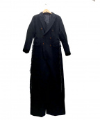 COMME des GARCONS HommePlus()の古着「ポリ縮絨オーバーオール」|ブラック