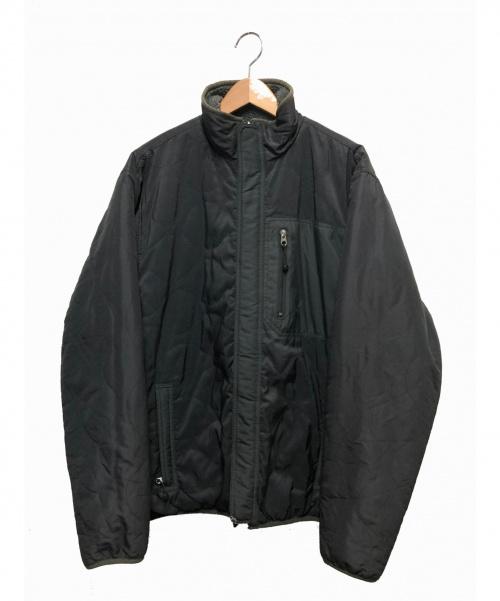 stussy(ステューシー)stussy (ステューシー) リバーシブルフリースジャケット グレー サイズ:表記なしの古着・服飾アイテム