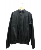 FUMITO GANRYU(フミト ガンリュウ)の古着「ジップブルゾン」|ブラック