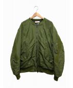 FACETASM(ファセッタズム)の古着「MA-1ジャケット」|グリーン