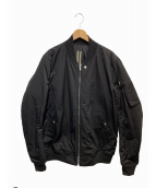 DRKSHDW(ダークシャドウ)の古着「ラリーフライトジャケット」|ブラック
