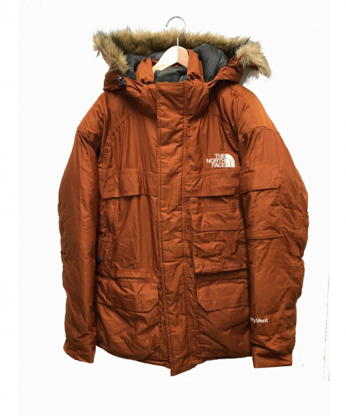 THE NORTH FACE(ザノースフェイス)THE NORTH FACE (ザノースフェイス) マクマードパーカ ブラウン サイズ:M  ND01358 Macmurdo Parkaの古着・服飾アイテム