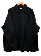 ()の古着「ビッグワイカーシャツ」|ブラック
