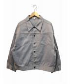 LANDLORD(ランドロード)の古着「オーバーサイズワークジャケット」 グレー