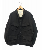 LANDLORD(ランドロード)の古着「ファティーグミリタリージャケット」 ブラック