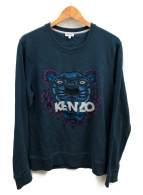 KENZO(ケンゾー)の古着「タイガークルーネックスウェット」 グリーン