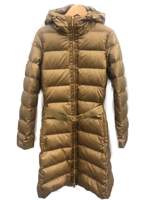 MONCLER(モンクレール)MONCLER (モンクレール) ダウンコート ベージュ サイズ:00の古着・服飾アイテム