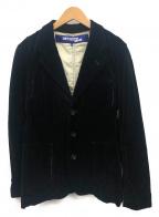 JUNYA WATANABE CdG(ジュンヤワタナベコムデギャルソン)の古着「モールスキン3Bジャケット」|ブラック