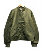 KAIKO(カイコ)の古着「フォースレスナイロンジャケット」|オリーブ