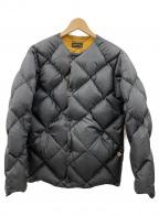 Comfy Outdoor Garment(コンフィーアウトドアガーメンツ)の古着「ダウンジャケット」|ブラック×イエロー