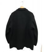 YS for men(ワイズフォーメン)の古着「ウールコート」 ブラック