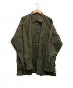 SSZ(エスエスゼット)の古着「ミリタリーシャツ」|カーキ