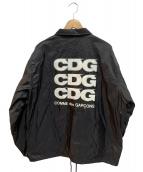 CDG(シーディージーコムデギャルソン)の古着「コーチジャケット」 ブラック