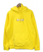 Supreme(シュプリーム)の古着「Bandana Box Logo Hooded Sweat 」|イエロー