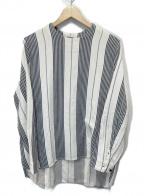 SUNSEA()の古着「ベットストライププルオーバー」|ベージュ