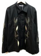 OUR LEGACY(アワーレガシー)の古着「エンブロイダリーシャツ」|ブラック