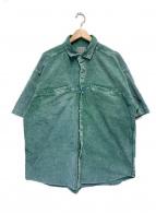 C.E(シーイー)の古着「コーデュロイシャツ」 グリーン