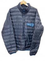 Patagonia()の古着「ダウンジャケット」|ネイビー