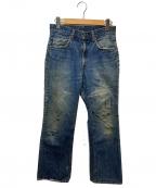 LEVIS(リーバイス)の古着「70'sヴィンテージ517ブーツカットデニムパンツ」 インディゴ