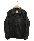 US NAVY(ユーエスネイビー)の古着「70sヴィンテージユーティリティジャケット」|ブラック