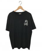 A BATHING APE(エイプ)の古着「プリントTシャツ」|ブラック