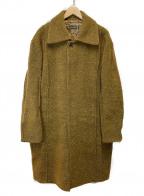 CORNELIANI(コルネリアーニ)の古着「ステンカラーコート」|ブラウン