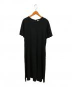 PLAIN PEOPLE(プレインピープル)の古着「ブラウスワンピース」|ブラック