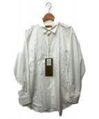 ROBES&CONFECTIONS(ローブスアンドコンフェクションズ)の古着「刺繍シャツ」|ホワイト