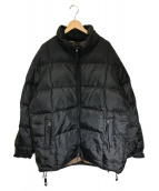 OLD GAP(オールドギャップ)の古着「01sオールドオーバーダウンジャケット」|ブラック