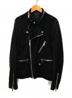 CHRISTIAN DADA(クリスチャンダダ)の古着「ライダースジャケット」 ブラック