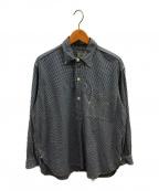 POST OALLS(ポストオーバーオールズ)の古着「プルオーバーシャツ」|ブルー