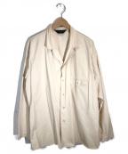 Essay(エッセイ)の古着「フィールドシャツ」 ベージュ