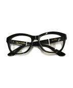 SABRE(セイバー)の古着「眼鏡」 ブラック