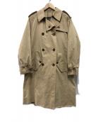 ()の古着「80s一枚袖トレンチコート」 ベージュ