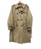 Burberrys()の古着「80s一枚袖トレンチコート」|ベージュ