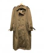 london fog(ロンドンフォグ)の古着「70's∼80'sトレンチコート」 ブラウン