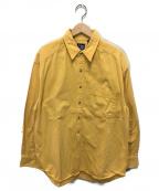 OLD GAP(オールドギャップ)の古着「90'sヴィンテージレギュラーカラーシャツ」|イエロー