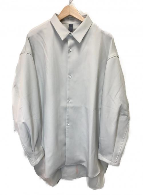 SHINYA KOZUKA(シンヤコズカ)SHINYA KOZUKA (シンヤコヅカ) クラシックシャツ グレー サイズ:M 2002SK48の古着・服飾アイテム