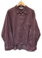 THEE(シー)の古着「コーデュロイシャツ」|バイオレット