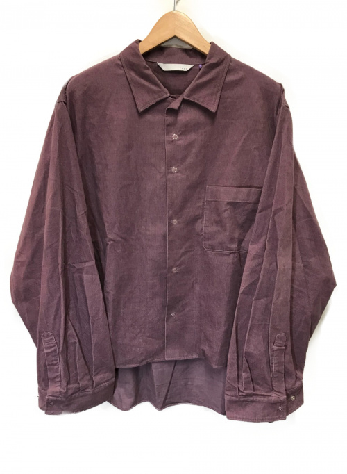 THEE(シー)THEE (シー) コーデュロイシャツ バイオレット サイズ:2 RM-SH-02-Bの古着・服飾アイテム