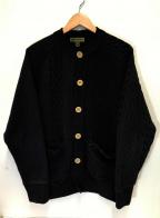 NIGEL CABOURN(ナイジェルケーボン)の古着「フィッシャーマンカーディガン」 ネイビー