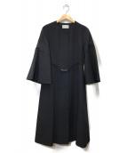 CELFORD(セルフォード)の古着「フレアスリーブコート」|ネイビー