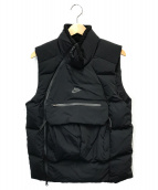 NIKE(ナイキ)の古着「テックパックフィルダウンベスト」|ブラック