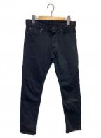 MINEDENIM(マインデニム)の古着「ヴィンテージ加工デニムパンツ」|インディゴ