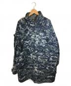 US NAVY(ユーエスネイビー)の古着「デジカモゴアテックスジャケット」|ブルー