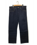 LEVIS VINTAGE CLOTHING(リーバイス ヴィンテージクロージング)の古着「55復刻デニムパンツ」|インディゴ