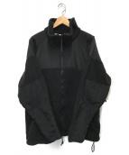 USMC(ユーエスエムシー)の古着「ポーラテックフリースジャケット」|ブラック