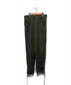 VINTAGE(ヴィンテージ)の古着「40sウールパンツ」|オリーブ